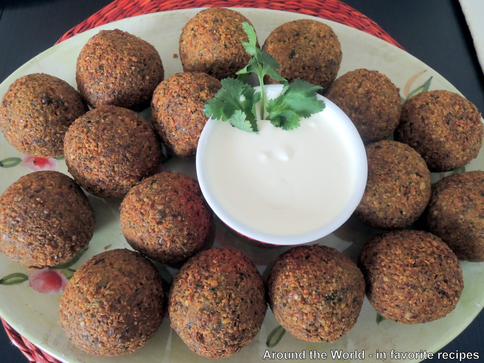 Around the World - in favorite recipes: Falafel