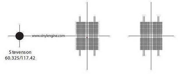 Шаблон для настройки головки звукоснимателя скачать бесплатно