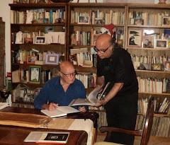 Con Octavio Prenz en City Bell