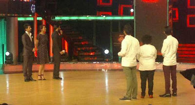 Ranveer  & Sonakshi at the MasterChef India Finale!