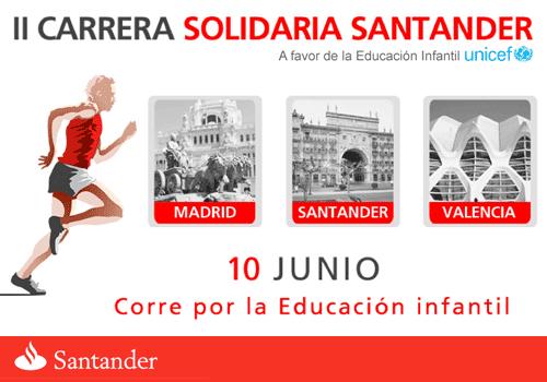 II Carrera Solidaria Santander