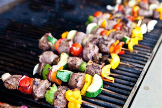 Spicy grilled food