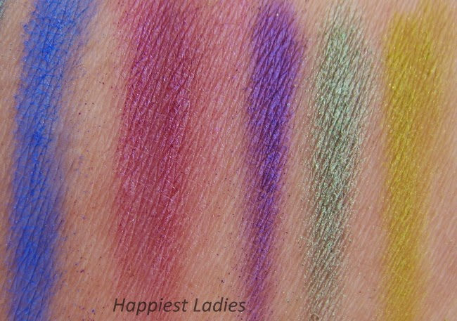 UrbanDecay Electric EyeShadow swatch