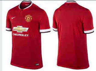 jual online jersey mu, manchester united home, chevrolet, grade ori, thailand, tempat jual online baju bola mu home away third