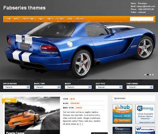 WordPress-Template Gears