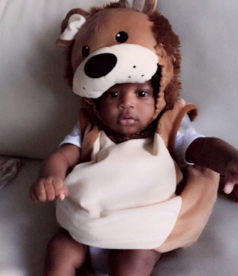 Photo: Tiwa Savage Finally Shows The Face Of Her Son
