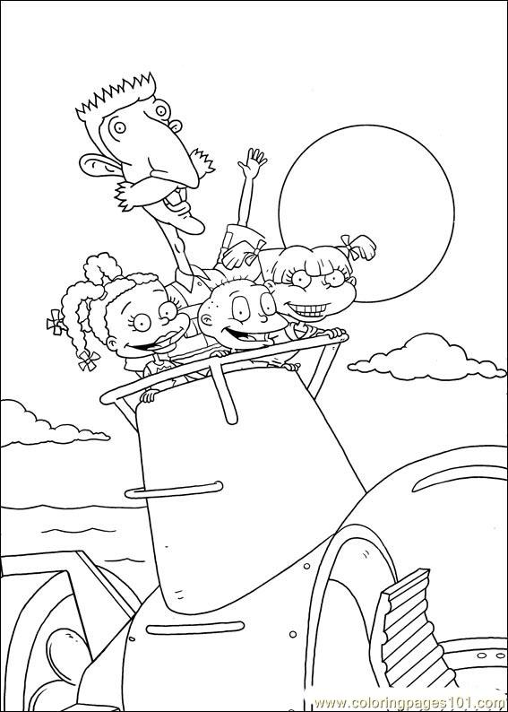 Free Printable Rugrats Coloring Pages (; | Everything Rugrats and ...
