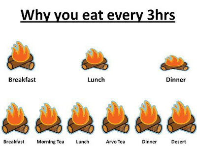 Eat 5 to 6 small meals per day