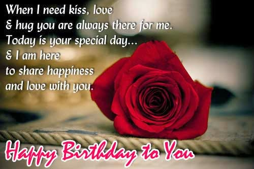 Birthday Love Quotes, part 1