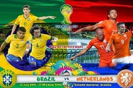 تحديد المراكز الثالث والرابع البرازيل مع هولندا كأس العالم
