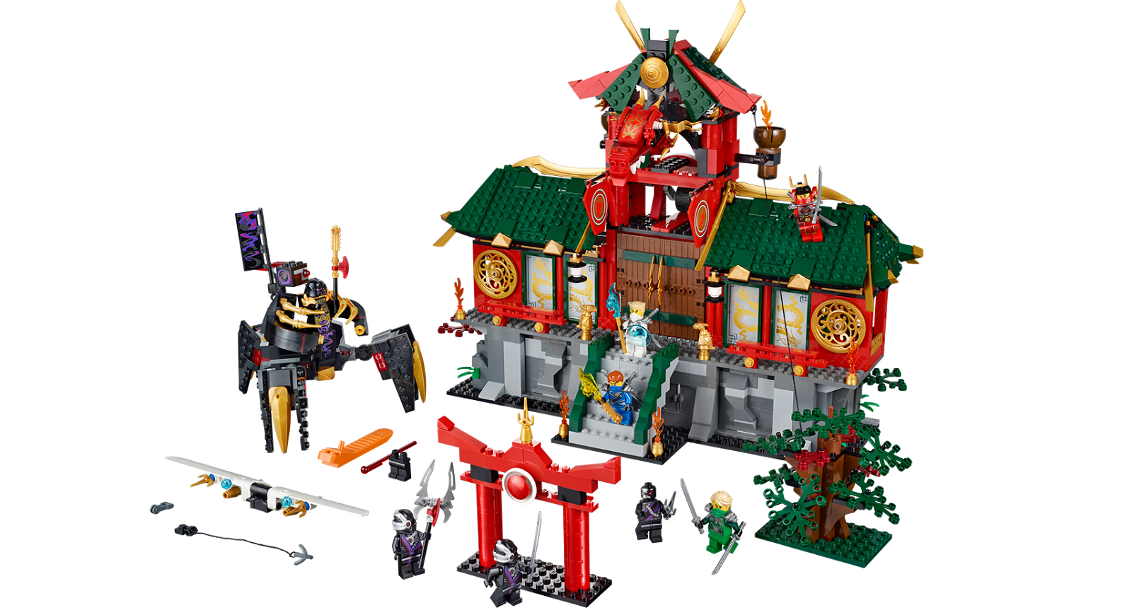 Ninjago BATTLE FOR NINJAGO CITY 70728