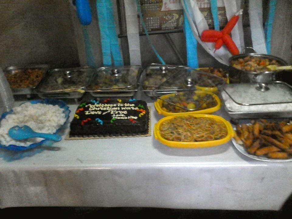 Baptismal Food