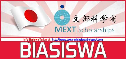 Biasiswa Latihan Perguruan MONBUKAGAKUSHO (MEXT) Jepun | Biasiswa