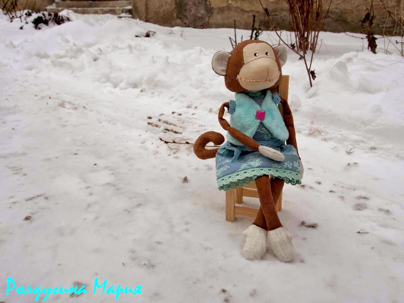 игрушечная обезьянка