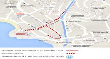 Pontos de ônibus são relocados no Rio Vermelho para inicio das obras de requalificação