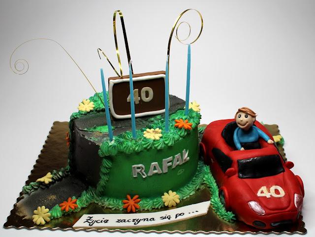 40th Birthday Cake, London