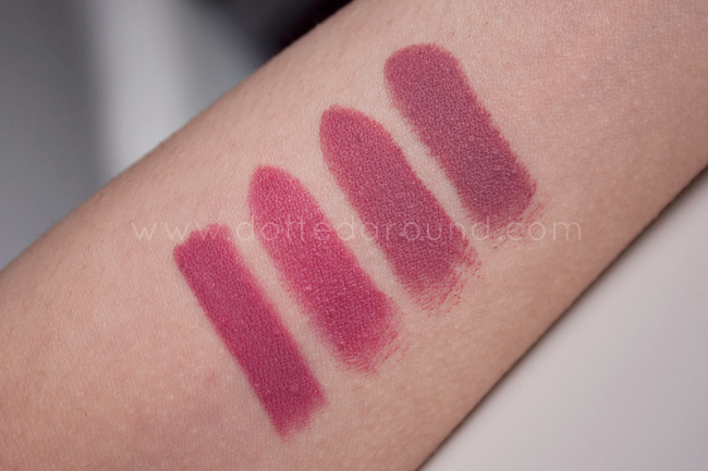 Nabla ombre rose swatch rossetto mac mehr