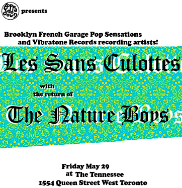 Les Sans Culottes @ The Tennessee, Friday