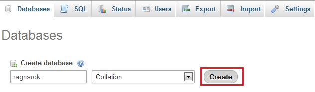 ragnarok database