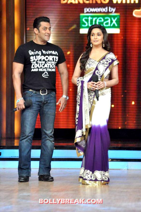 Salman Khan, Madhuri Dixit - (6) - Salman & Katrina on the sets of 'Jhalak Dikhhla Jaa 5'