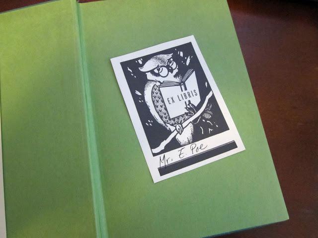 owl ex libris vintage book plate printable ex libris