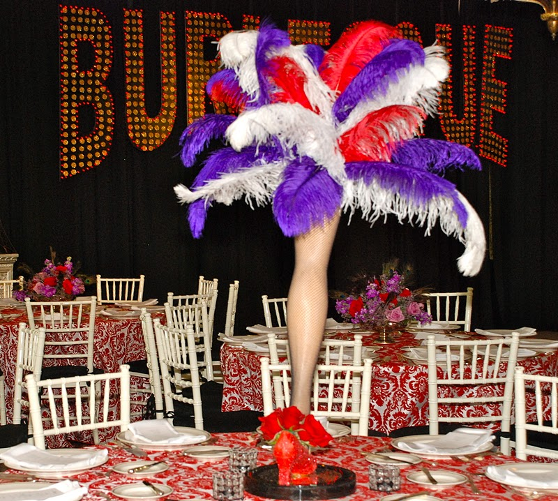 Setting the mood a french inspired burlesque birthday bash for Burlesque bedroom ideas