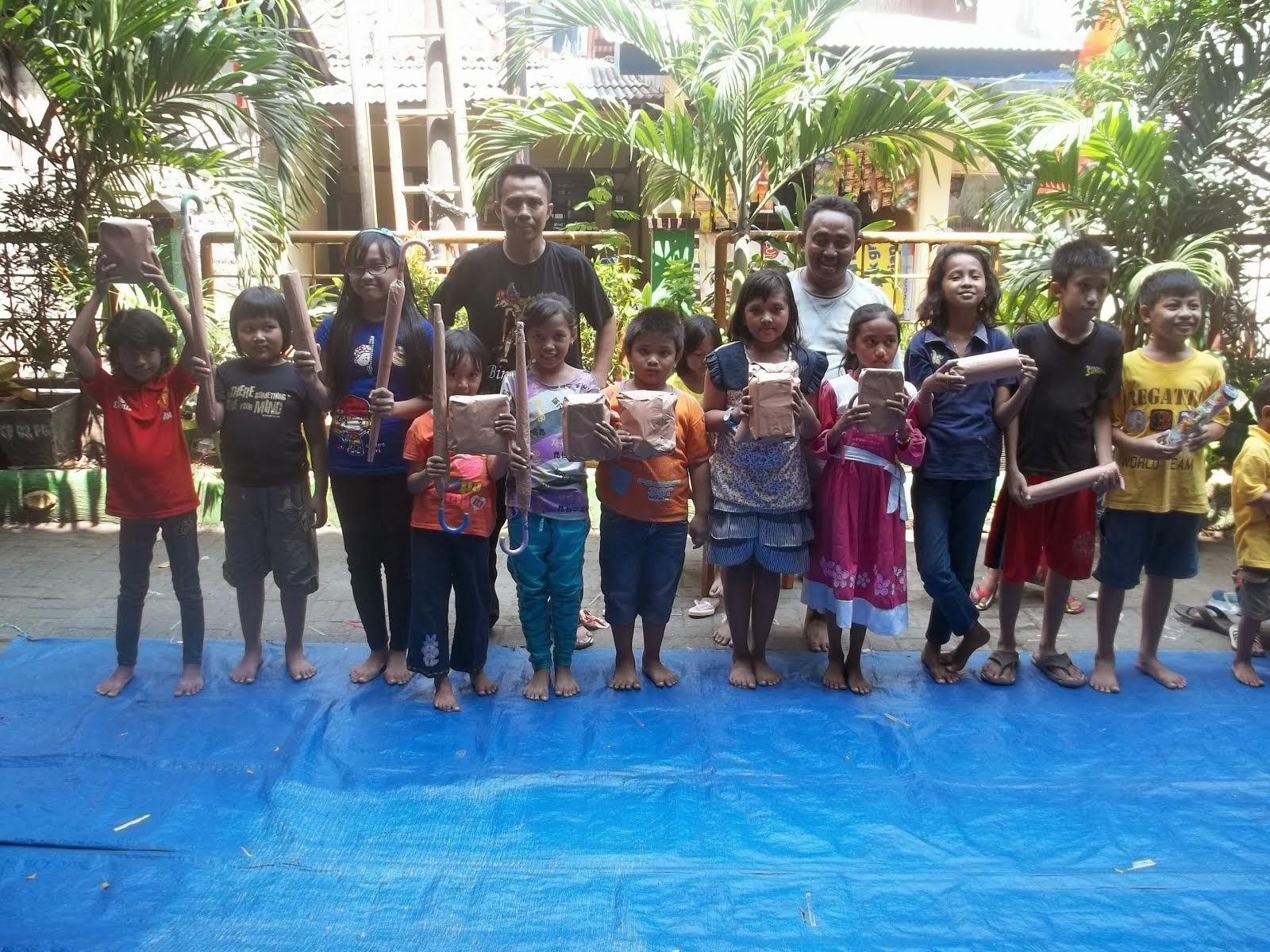 Kreatifitas anak Indonesia
