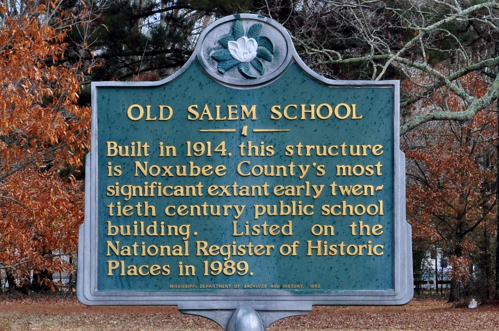 Stores of the South - Old Salem School