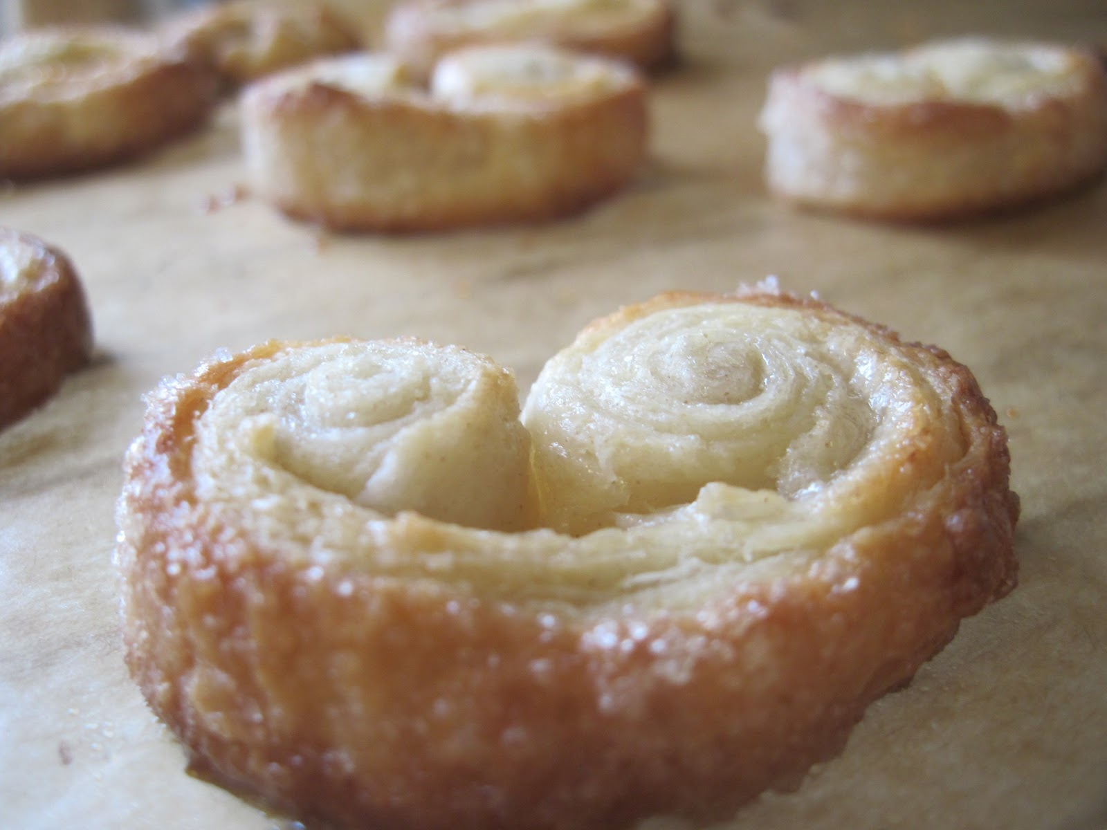 The Sugar Lump: Palmiers