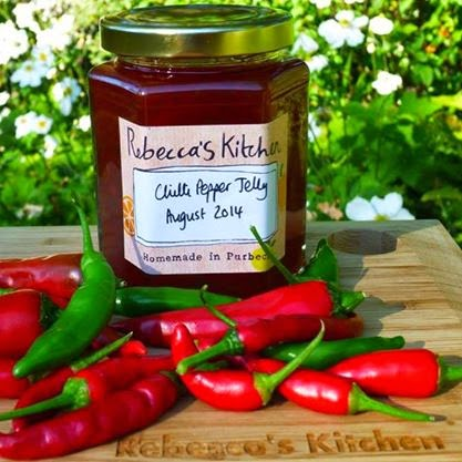 Rebecca's Kitchen Chilli Pepper Jelly