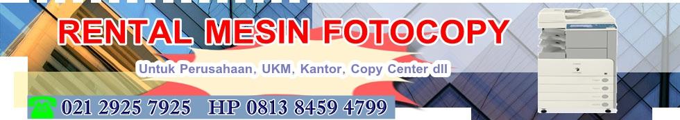 Sewa Mesin Fotocopy