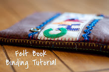 Felt Book Binding Tutorial