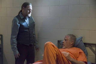 Ron Perlman and Donal Logue in Sons of Anarchy, ep Straw (season premiere)