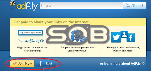 Adf.ly, shortly URL berbayar