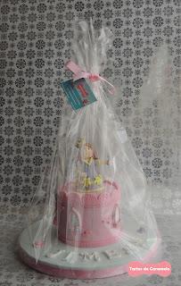 Tarta de Princesas: lista para entregar