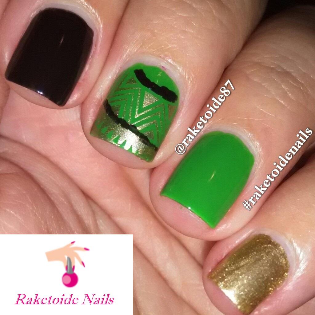 Raketoide Nails: Reto Villanos y Superhéroes - Mandarín