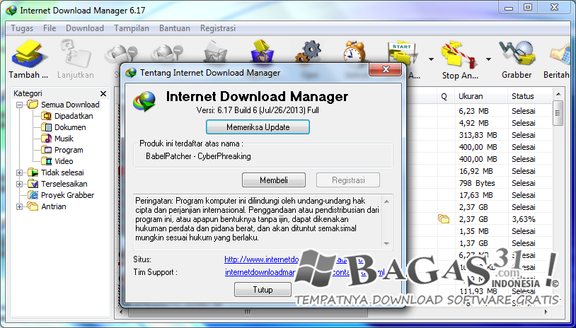 Internet Download Manager 6.17 Build 6 Full