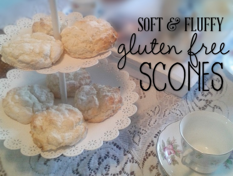 Soft and Fluffy Gluten Free Scones