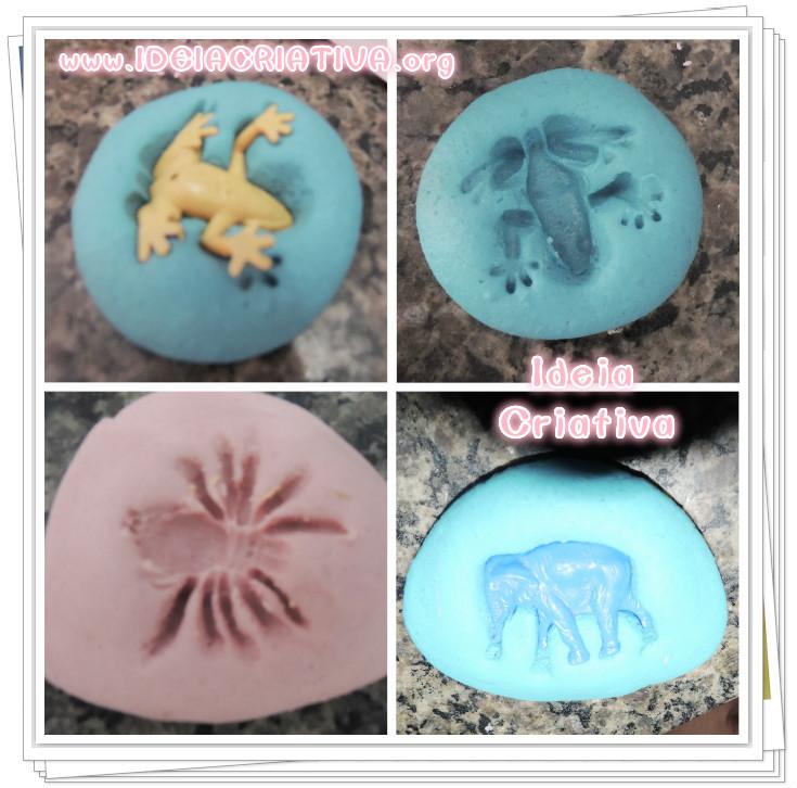 Favoritos Atividade com Massinha de Modelar e Miniaturas de Animais | Ideia  TE77