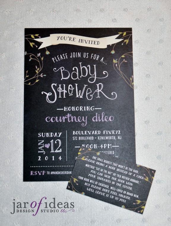 Jar of ideas chalkboard baby shower invitations chalkboard baby shower invitations filmwisefo Gallery