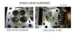 Kubah head Albronze