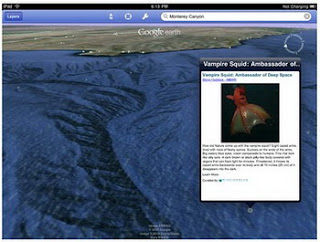 """Google Earth 3.1 for iOS adds """"Explore the Ocean"""" layer"""