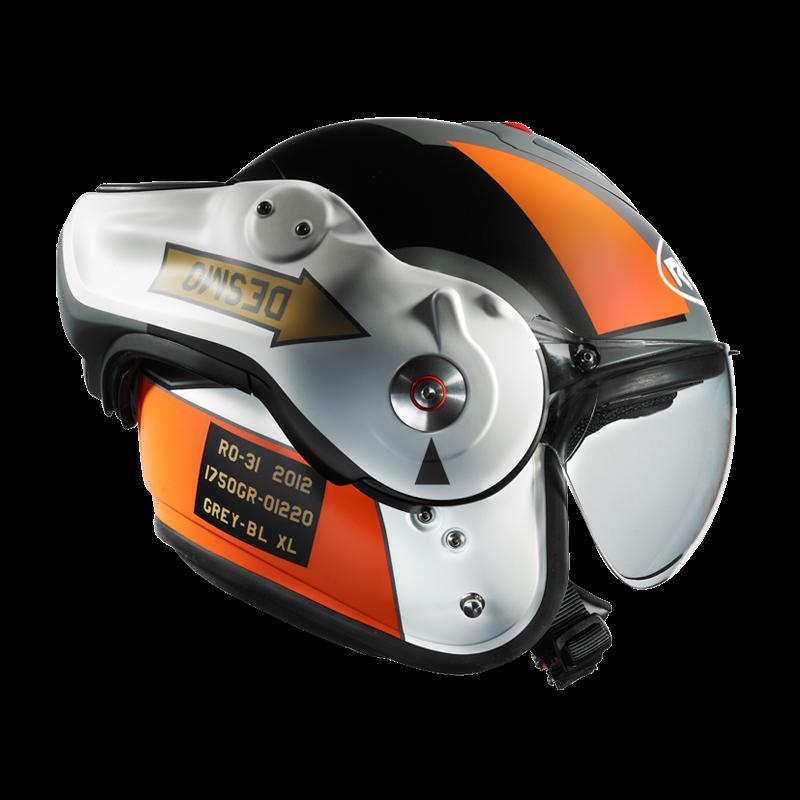 Roof Desmo Helmet Grease N Gas