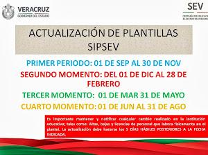 CALENDARIO DE FECHAS SIPSEV 2013-2014