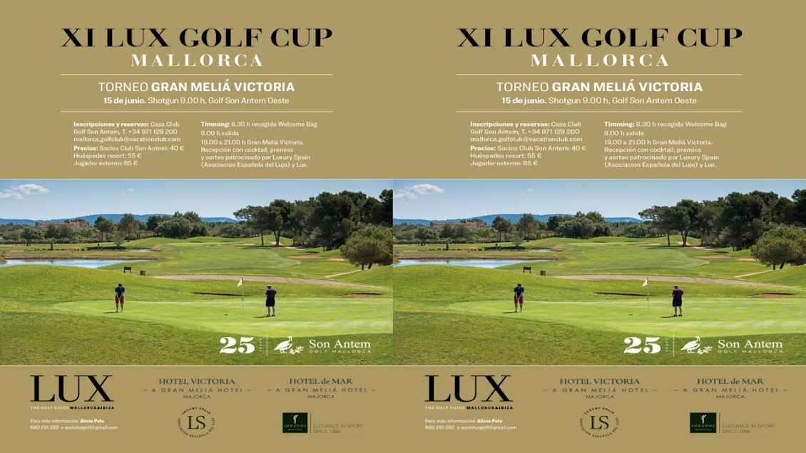 ___ LUX GOLF GUIDE 2019  TORNEO XI LUX GOLF CUP 15 JUNIO