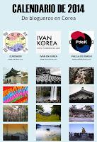 Venta del calendario de Corea 2014