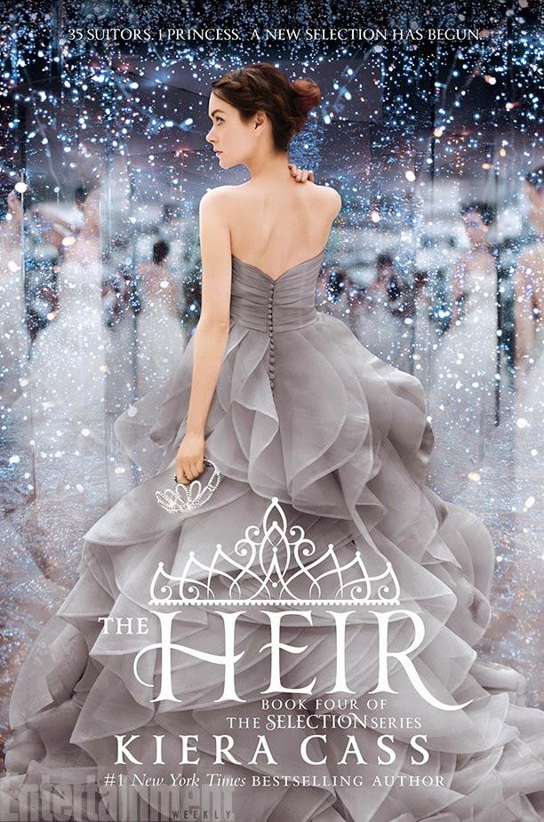 Divulgada a capa de The Heir, quarto livro da série de A Seleção
