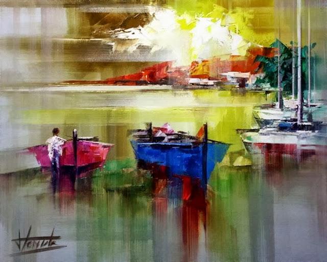 Pejzaži u slikarstvu... - Page 2 Landscape+Paintings+by+Josep+Teixido+%2812%29