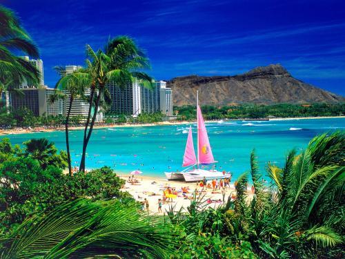 Foto Pemandangan Hawai