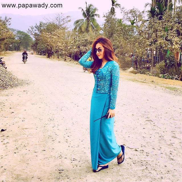 13 Pictures of Myanmar Model Warso Moe Oo in July